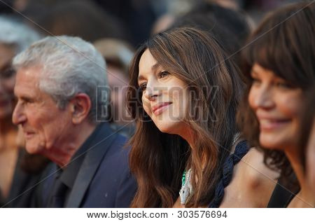 CANNES, FRANCE. May 18, 2019: Monica Bellucci at the gala premiere for