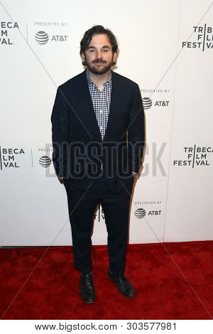NEW YORK - APR 26: Director James Ponsoldt attends 'The Circle' screening during the 2017 TriBeCa Film Festival at BMCC Tribeca PAC on April 26, 2017 in New York City.