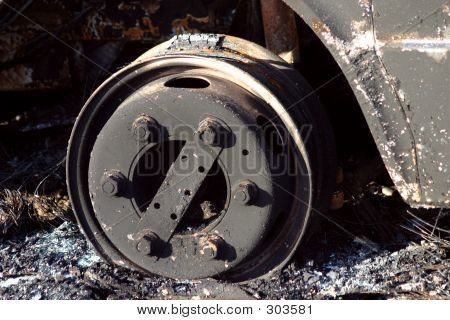 Burnt Out Wheel