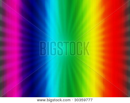 Rainbow Colorful  Background