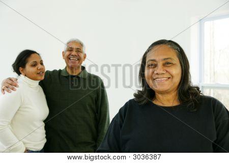 Minderheid familie