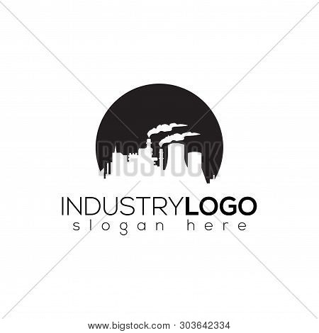 Industry Factory Logo Vector Element. Industry Logo Template