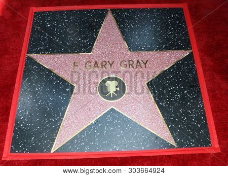 LOS ANGELES - MAY 28:  F Gary Gray WOF Star at the F. Gary Gray Star Ceremony on the Hollywood Walk of Fame on May 28, 2019 in Los Angeles, CA