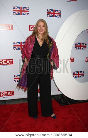 LOS ANGELES - FEB 24:  Geraldine James arrives at the GREAT British Film Reception at the British Consul Generalâ??s Residence on February 24, 2012 in Los Angeles, CA.