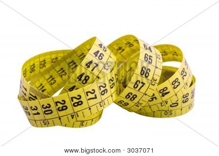 Yellow Curl Measure Tape