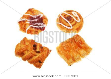 Group Of Danish Pastries