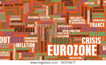 Eurozone Crisis and Debt Problems in Europe poster