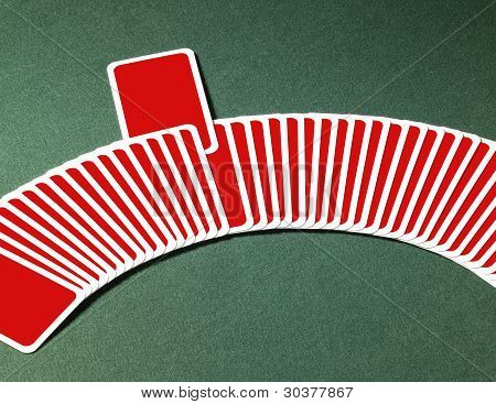 Playing Cards In A Row