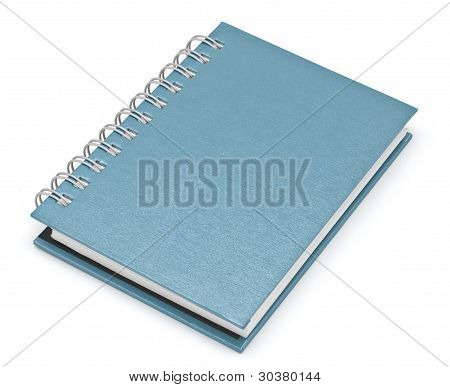 Stack Of Ring Binder Book Or Brown Notebook