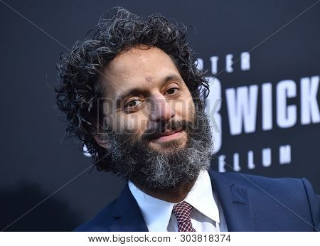 LOS ANGELES - MAY 15:  Jason Mantzoukas arrives for the John Wick: Chapter 3 - Parabellum' L.A. Special Screening on May 15, 2019 in Hollywood, CA