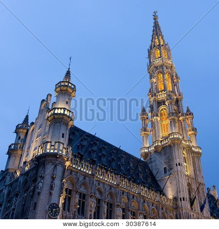 Town Hall of Grand Place, Brussels