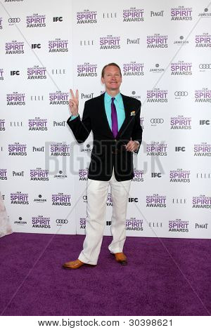 LOS ANGELES - FEB 25:  Carson Kressley arrives at the 2012 Film Independent Spirit Awards at the Beach on February 25, 2012 in Santa Monica, CA
