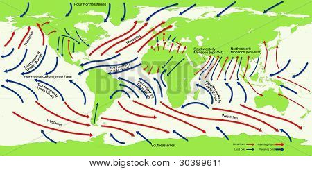 Map - Wind