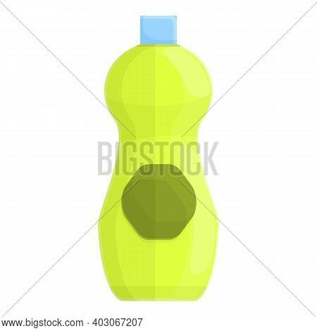 Biodegradable Plastic Bottle Icon. Cartoon Of Biodegradable Plastic Bottle Vector Icon For Web Desig