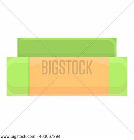 Biodegradable Plastic Box Icon. Cartoon Of Biodegradable Plastic Box Vector Icon For Web Design Isol