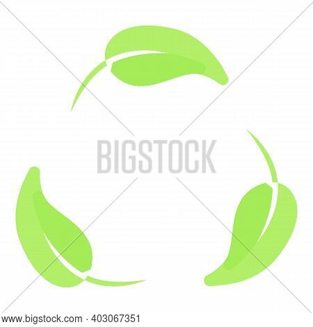 Biodegradable Plastic Eco Icon. Cartoon Of Biodegradable Plastic Eco Vector Icon For Web Design Isol
