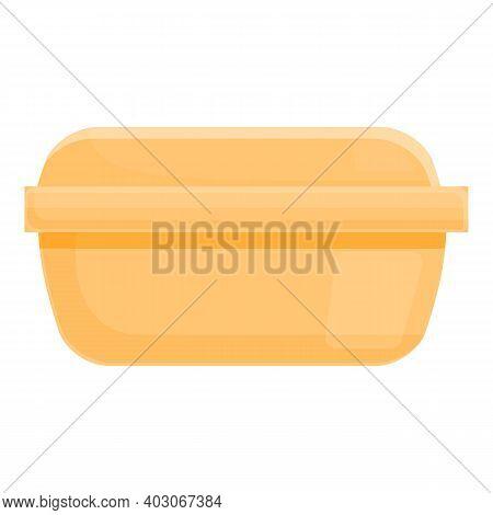 Biodegradable Plastic Container Icon. Cartoon Of Biodegradable Plastic Container Vector Icon For Web