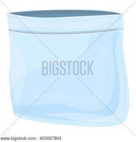 Biodegradable Plastic Small Bag Icon. Cartoon Of Biodegradable Plastic Small Bag Vector Icon For Web