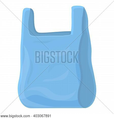 Biodegradable Plastic Sort Bag Icon. Cartoon Of Biodegradable Plastic Sort Bag Vector Icon For Web D