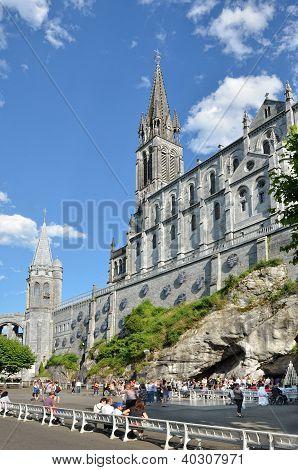 Upper Church In Lourdes