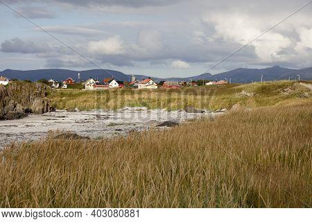 Vesteralen Islands / Norway - August 31, 2017: A Beach Near Andenes, Vesteralen Islands, Nordland, N