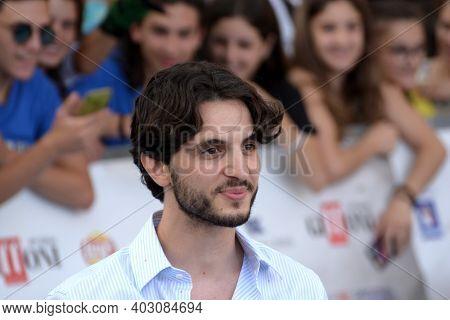 Giffoni Valle Piana, Sa, Italy - July 25, 2019 : Giacomo Ferrara At Giffoni Film Festival 2019 - On