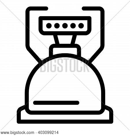 Butane Gas Stove Icon. Outline Butane Gas Stove Vector Icon For Web Design Isolated On White Backgro