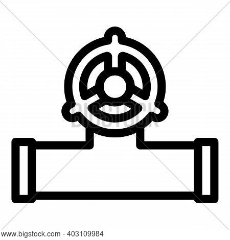 Pipeline Icon. Outline Pipeline Vector Icon For Web Design Isolated On White Background