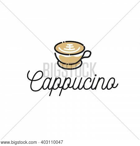 The Cappuccino Logo Inspired Cafe Design Inspiration