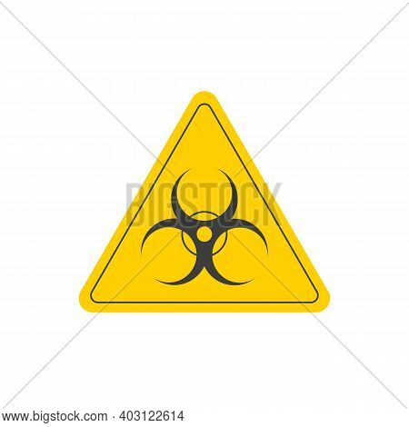 Absolutely Symmetric, Accurate And Simple Emblem Bio-hazard