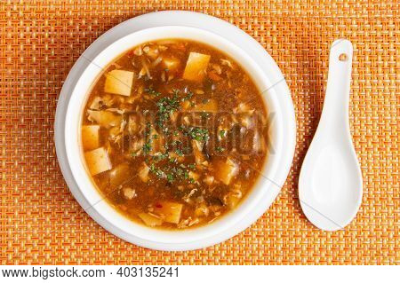 Miso Soup On A Bowl, Japanese Food