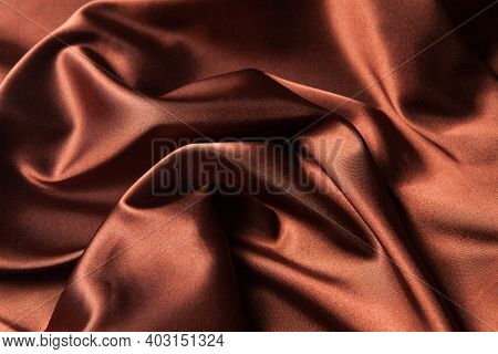 Abstract Background Luxury Cloth Or Liquid Wave Or Wavy Folds Of Grunge Silk Texture Satin Velvet Ma