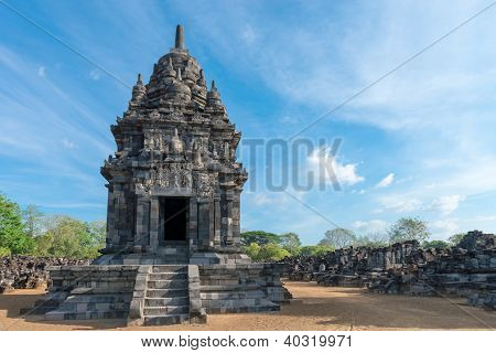 Candi Sewu Buddhist Complex In Java, Indonesia