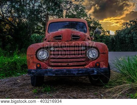 Detroit, Michigan - November 4, 2020: The Ford Motor Is An American Automaker Headquartered In Dearb