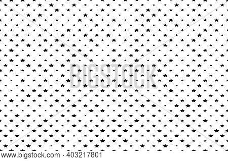 Simply Texture With Random Stars. Eps10 Vector.