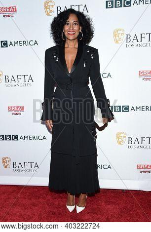 LOS ANGELES - SEP 16:  Tracee Ellis Ross arrives for  BAFTA TV Tea Party 2017 on September 16, 2017 in Beverly Hills, CA