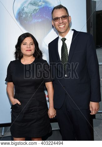 LOS ANGELES - JUL 25:  Bonni Cohen and Jon Shenk arrives for 'An Inconvenient Sequel: Truth To Power' Screening on July 25, 2017 in Hollywood, CA
