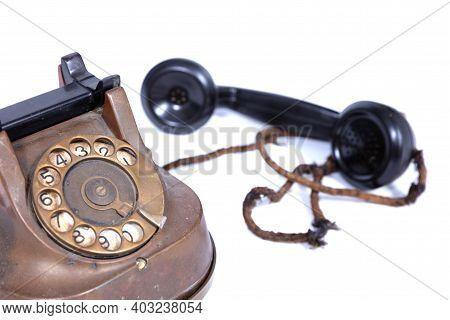 Old Retro Vintage Rotary Phone
