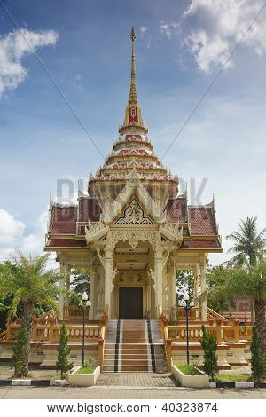 Chalong Tample, Phuket, Thailand.