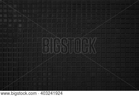 Black Tile Wall High Resolution Real Photo Or Brick Seamless  Pattern And Texture Interior Room Back