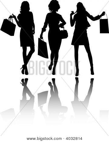 Girls Shoping