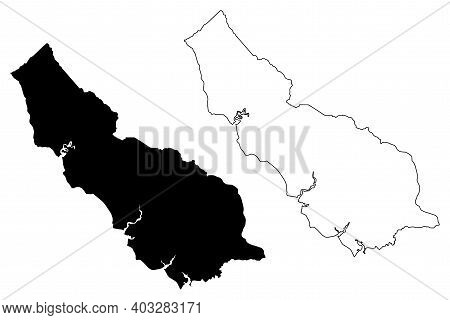 Richmond County, Commonwealth Of Virginia (u.s. County, United States Of America, Usa, U.s., Us) Map