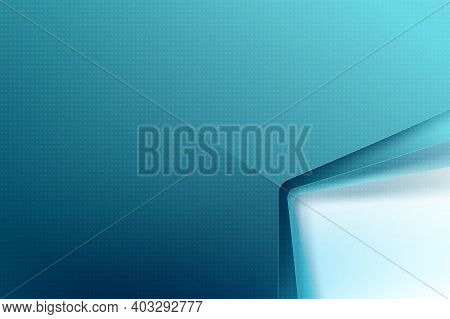 Abstract Background Basic Geometry Overlap With Shadows, Modern And Elegant Style With Copy Space, V