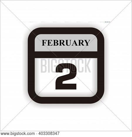 Calendar Icon 2 Isolated On White Background, Calendar Icon Vector Flat Modern, Calendar Icon, Calen