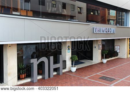 Las Palmas, Spain - November 30, 2015: Street View Of Nh Imperial Hotel In Las Palmas, Gran Canaria