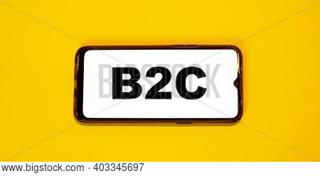 On An Electronic Device Business Text - B2c