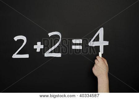 2+2=4