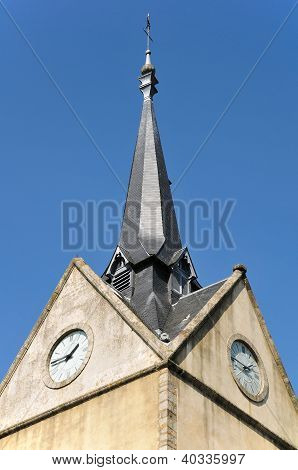 Tower bell at Alen�on in France