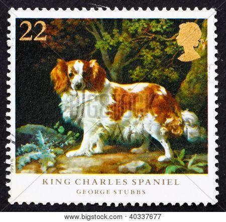 Postage stamp GB 1991 King Charles Spaniel