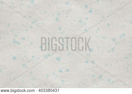 christmas vintage background with snowflakes on old paper texture